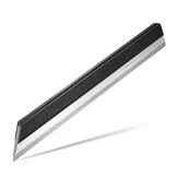 Régua de borda de aço inoxidável 200mm Layout de precisão do maquinista Medidor de régua de borda nível 00 para medição plana