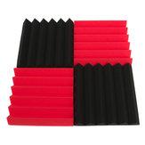 4 قطع 30x30 × 5 سنتيمتر مربع العزل تقليل الضوضاء الإسفنج رغوة القطن
