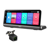 P03 HD1080P 8Inch Dashboard Car DVR Camera 2+32G 4G Android 8.1 ADAS Auto Video Recorder WIFI GPS Navigator