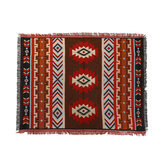 Home Decoration Aztec Navajo Towel Mat Throw Wall Hanging Cotton Rugs Geometry Woven 130*160cm