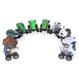 Wind-up Dinosaur Cars Toys Animal Model Novelities Toys Funny Gift Collection