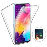 Ốplưngbảovệmànhình cảm ứng toàn thân cho Samsung Galaxy A502019