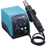 858D 750 Вт Горячий воздух Нагреватель LED Цифровой бессвинцовый BGA Ремонтная Пайка Станция Демонтажная станция SMT 220В / 110В