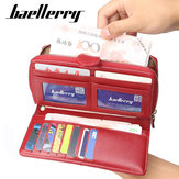 Baellerry Kobiety Faux Leather Large Capacity Fashion Purse