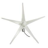 1000W Peak 12V / 24V Rüzgar Türbini 5 Blade Rüzgar Jeneratörü Türbini Rüzgar Türbini