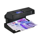 AD-2138 Cash Detector Machine Indicator Bill Cash Counting Machine Money Detector Currency Banknotes Notes Checker with Ultraviolet UV and Magnifier