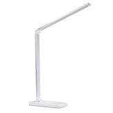 Regulowana składana lampa stołowa Oświetlenie biurkowe Lampka nocna + ładowarka USB Port D ściemnianie 3/5 biegów do sypialni domowego biura