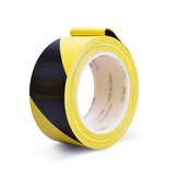 Balck Yellow Safety Warning Conspicuity Tape Film Stickers Waterproof 2CM x 33M