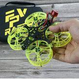 FPVRACER CINE X2 100mm F4 25A ESC 4S 2 Inch Whoop FPV Racing Drone Drone PNP w/ 1302 5500KV Motor Tiny Rocket 25-350mW VTX Runcam Nano 2 FPV Camera