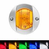 6 LED 12V DC Round Flush Mount Waterproof Marine Led Navigation Lights