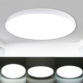 220V 12/18/24W Voice Control Led Ceiling Light Ultra Thin Flush Mount Kitchen Round