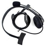 Retevis 2 Pin PTT Mic Headset for Baofeng Walkie Talkie Earpiece Quansheng Puxing TYT C9009A