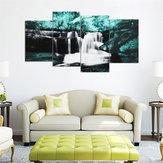 4PCSForestFallsWallКартиныГлавная Современное искусство Природа Unframed Picture Decor