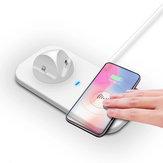 Cargador inalámbrico Bakeey 5W 4-en-1 para la estación de carga del teléfono móvil para Samsung para iPhone