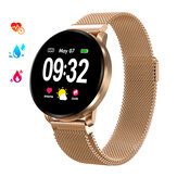 GOKOO CF08 bluetooth Touch Screen Heart Rate Sleep Monitor Female Health Tracker IP67 Waterproof Women Smart Watch Wristwatch