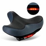 Bisiklet Selesi Rahat Nefes Alabilir Geniş Yastıklar Koltuk Amortisörü Elektrikli Bisiklet Scooter için 3 Modlu Arka Lamba Motosiklet