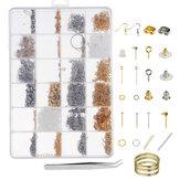 Collana Braccialetto Orecchini Set Gioielli Fai da te Kit per la creazione di gioielli fatti a mano