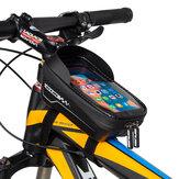 GUB 922 Tubo superiore per bicicletta da 900 ml Borsa Telaio per bici resistente agli urti con guscio duro in EVA Borsa Parti essenziali per biciclette per ciclismo