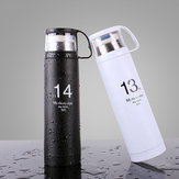 1314 Lovers Cup Rustfrit Stål Vakuumflaske Thermos Cup Portable Travel Mug