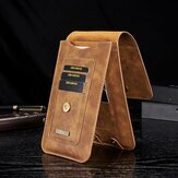 Hommes Faux Leather Vintage Card Holder Waist Bag Phone Bag