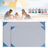 Wasserdichte Stranddecke Picknickmatte Falten Sanddichte Bodenmatte Matratze Camping Isomatte