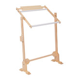Solid Wooden Frames Table Cross Stitch Frame Embroidery Floor Stand for Needlework Sewing Handmade Tools