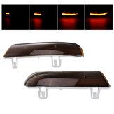Paire Dynamique LED Clignotants Clignotants Miroir Clignotants Ambre pour VW Golf 5 Jetta MK5 Passat B6