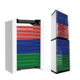 12 lap 36 lapos játék CD dobozos lemeztartó tároló állvány a PS5 Disc Double Storage Box Bracket Games kiegészítőkhöz