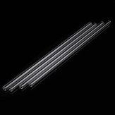 4pcs 250mm OD 7mm 1.5mm tubes de soufflage de verre Borosilicate mur épais