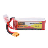 ZOP Power 14.8V 2200mAh 60C 4S Lipo Battery XT60 stik til RC Quadcopter
