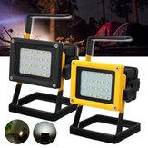 35W20LEDalairelibre Reflector de luz de trabajo Foco IP65 Impermeable cámping Linterna de emergencia