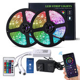 DoHome WiFi Smart LED Strip light com controlador RGB Light suporta APP controle HomeKit Alexa Google Home Tmall Genie Christmas Decorations Clearance Christmas Lights