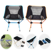 Portable Folding Camping Chair Beach Hiking Picnic Seat Extended Fishing Tools Chair For Travel