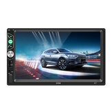 7 Inch Car MP5 Player Reversing Video Touch Screen Mobile Phone Projection Screen Steering Wheel Control FM Radio