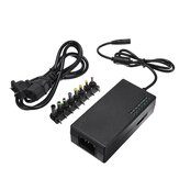 96W 12V-24V Regulado Adaptador de fonte de alimentação AC DC Power Adapter Charger With 8 Tips Conector EU Plug