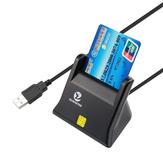 Zoweetek ZW - 12026 - 3 EMV USB ذكي ​​بطاقة Reader Writer DOD Military USB