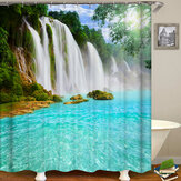 Shower Curtain Toilet Seat Cover Mat Bathroom Product Bathroom Accessories Set for Home Decor