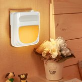 Light Sensor Plug-in Dimmable LED Night Light Bedside Wall Lamp Home Indoor Decor AC100-240V