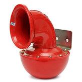 12V Металлический красный электрический булл-рожок Супер-громкий бушующий звук C Тяговый рычаг Авто Грузовик