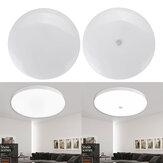 18W Redondo LED Luz de techo infrarroja Sensor / Control de voz y luz Noche