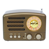 Draagbare AM FM AUX Vintage Retro Radio SW Bluetooth Speaker TF-kaart USB MP3-muziekspeler