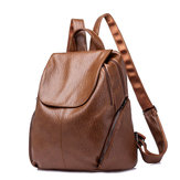 Women PU Soft Leather Multifunctional Leisure Handbag