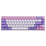 MechZone 135 Keys Sakura Keycap Set PBT XDA Profile Sublimation Two Color Keycaps for GH60 61 64 66 68 87 96 104 Keys Mechanical Keyboard