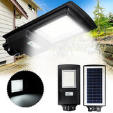 462LED Solar Street Light Radar Sensor Induction Wall Lamp Garden Outdoor Lighting
