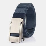 Unisex Nylon Automatic Buckle 120cm Sport Outdoor Casual Jeans Belt