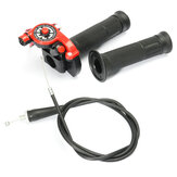 Action rapide Twist Throttle avec câble rouge 125cc 140cc 150cc Pit Bike