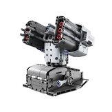 Умные строительные блоки Jupiter Dawn, набор, защита Скорпиона, башня Bluetooth, 5,0, управление приложением, детский обучающий робот с дистанционным у