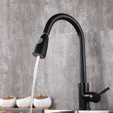 Bakeey Non-touch Smart Sensor Faucet Dwie metody wylotu Rozciągliwy kran z rurą wlotową wody