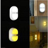LED Lumière de nuit mouvement induction batterie de la lampe de contrôle du capteur humain pour salle de bain chambre