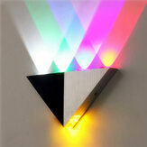 Multi-Color Triangle 5W LED Wall Sconce Lamp Up & Down Indoor Lighting